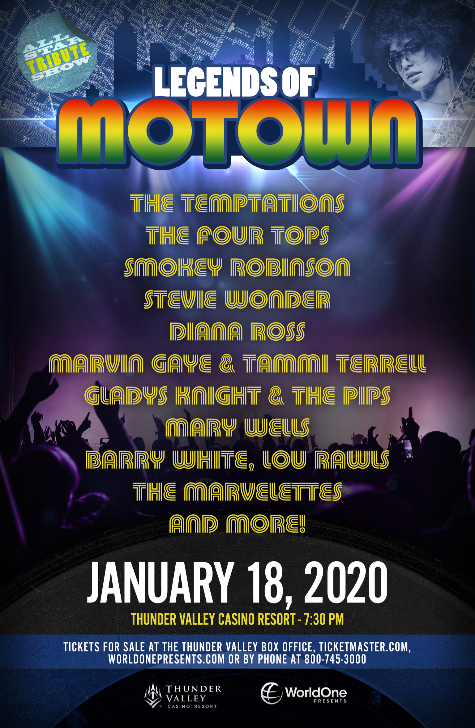 Legends of Motown | All-Star Tribute Show