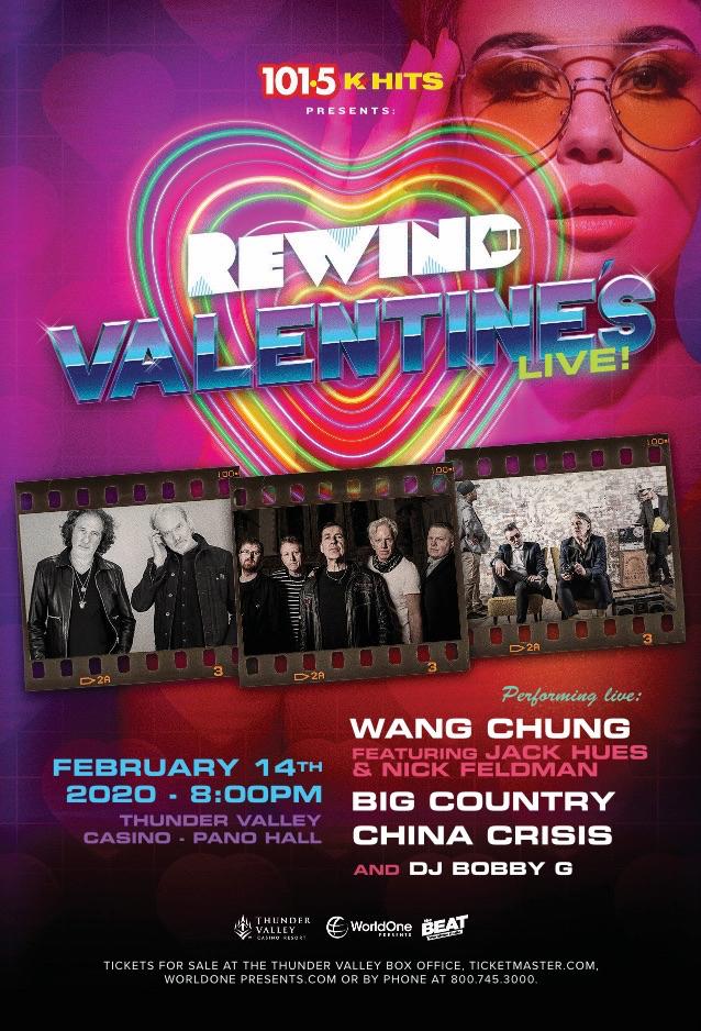 K-Hits presents REWIND Valentine's Live!