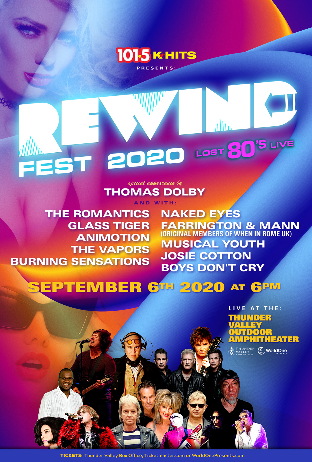 K-Hits presents REWIND Fest '20 | Lost 80's Live
