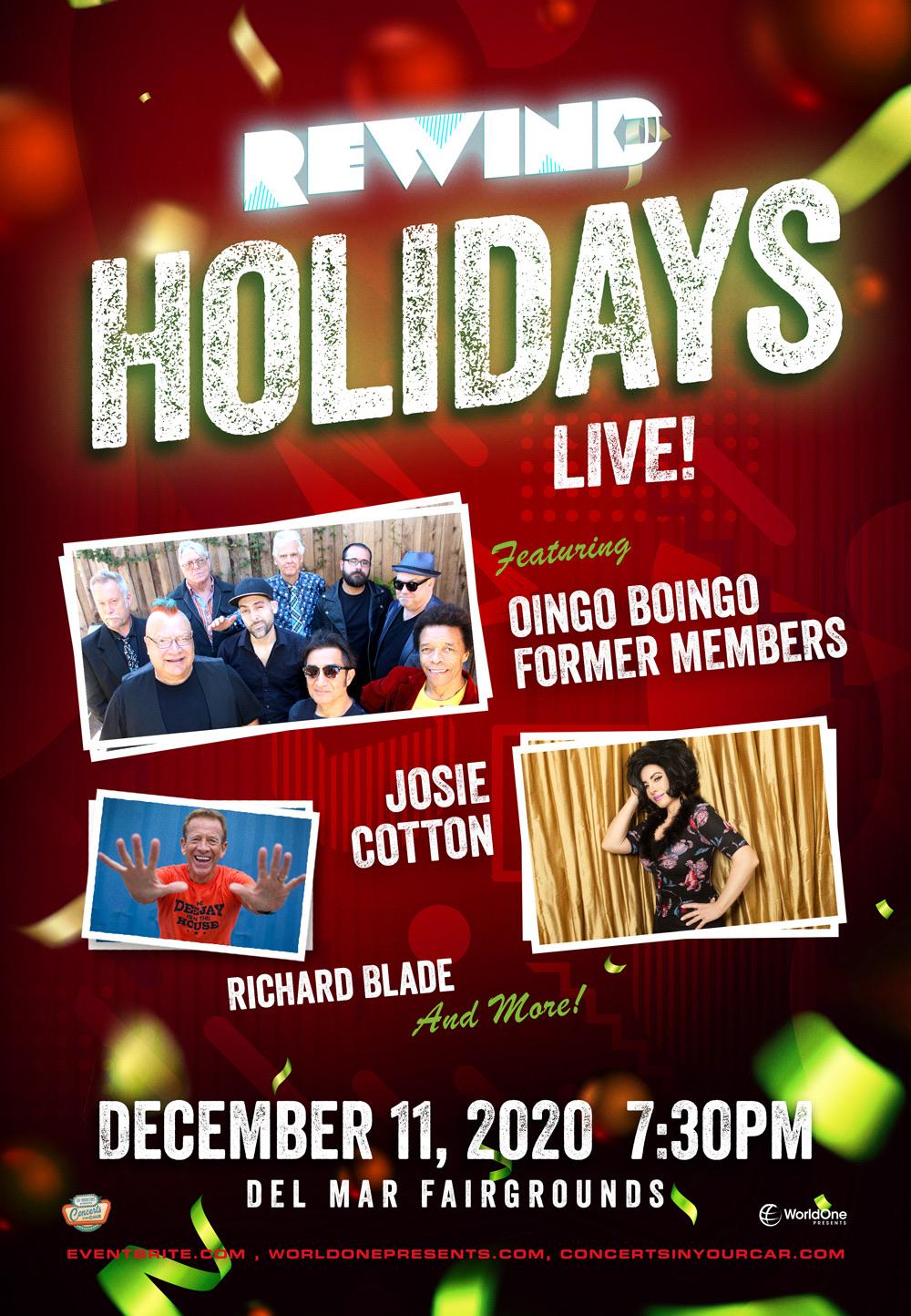 REWIND Holidays Live!